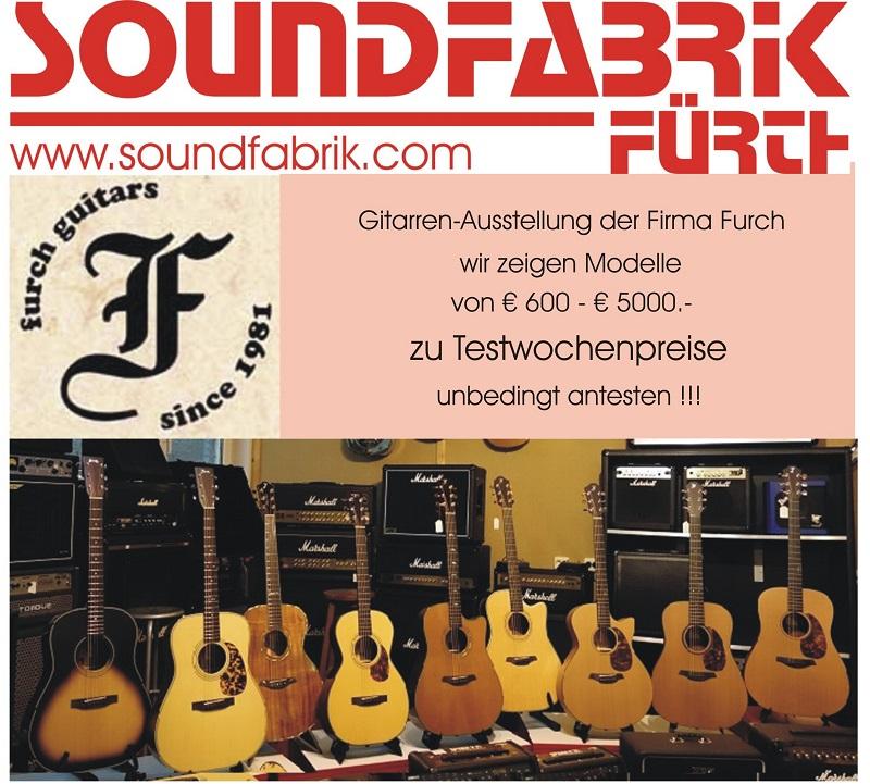 Furch Gitarren Ausstellung