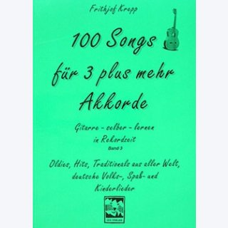 100 Songs für 3 plus mehr Akkorde, Frithjof Krepp