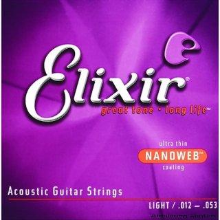 Elixir Akustik .011-.052