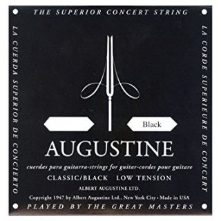 Augustine Black E1 Einzelsaite