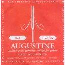 Augustine rot E6 Einzelsaite