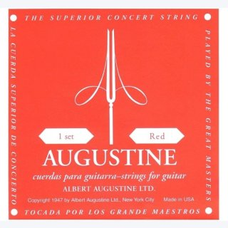 Augustine rot B2 Einzelsaite