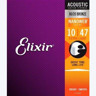 Elixir Akustik Bronze .010-.047