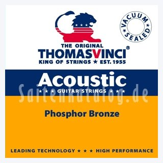 Thomas Vinci SET 502 M Acoustic Guitar Strings
