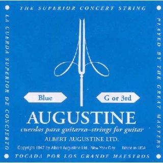 Augustine Blau G3 Einzelsaite