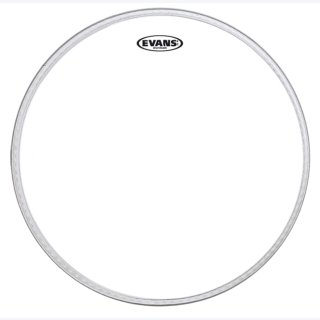 EVANS EQ2 Bassdrum Fell 2-lagig 18 Clear