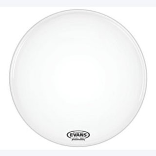 EVANS Bassdrum Resonanz Fell EQ1 18 Coated White