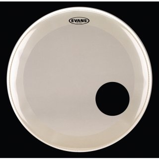 EVANS Bassdrum Resonanz Fell EQ3 18 Coated White