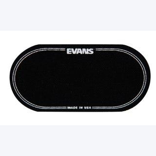 EVANS EQ Bass Drum Patches  Black Nylon
