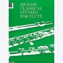 125 easy classical studies : for flute