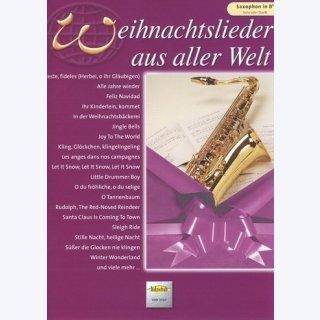 Weihnachtslieder aus aller Welt für Saxophon