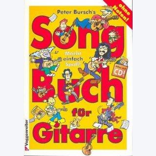 Peter Burschs Songbuch für Gitarre (+CD)