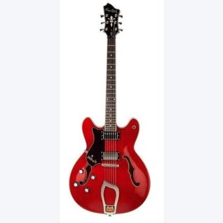 Hagstrom Viking Lefthand Jazz Gitarre