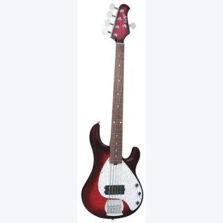 OLP-5-String Bass Flame Honey burst