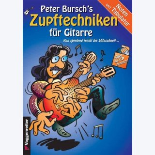 Peter Burschs Zupftechniken (CD)
