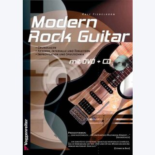 Modern Rock Guitar (DVD/CD)