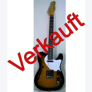 Ray Gerold # I Bourbon DLX Thinline E Gitarre
