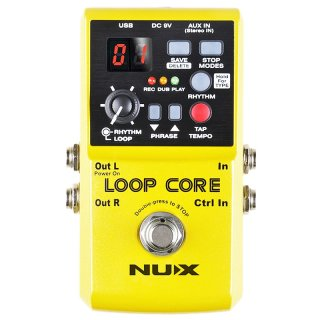 NUX LOOP CORE Gitarren Looper