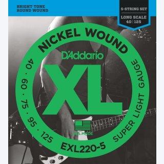 DAddario EXL 220-5 Bass Saiten